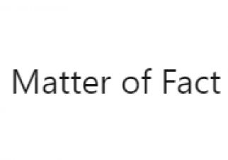 Matter of Fact, by Zita Fontaine