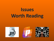 11/6/20 Recommended Issues: Misinformation & Watership Down Leadership