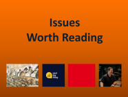 12/11/20 Recommended Issues: Robin Hood, Why Dec 25th?, Slack