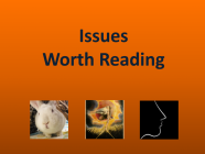 6/4/21 Recommended Issues: Research Bias, First Impressions, Standard of Living