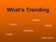 7/16/21 What's Trending This Week?