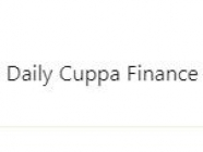 Daily Cuppa Finance