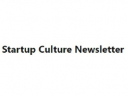 Startup Culture Newsletter